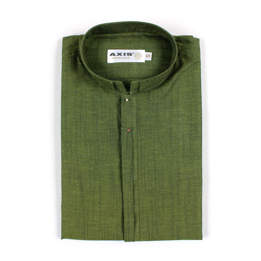 AXIS-green premium quality kurta (728)