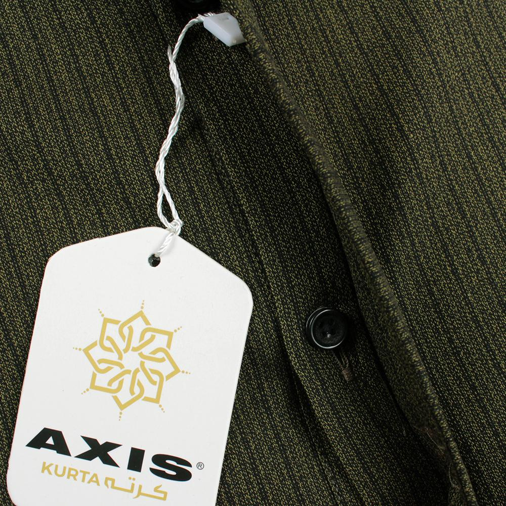AXIS-green premium quality kurta (733)