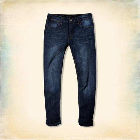 PD&C-blue 'slim fit' stretch jeans