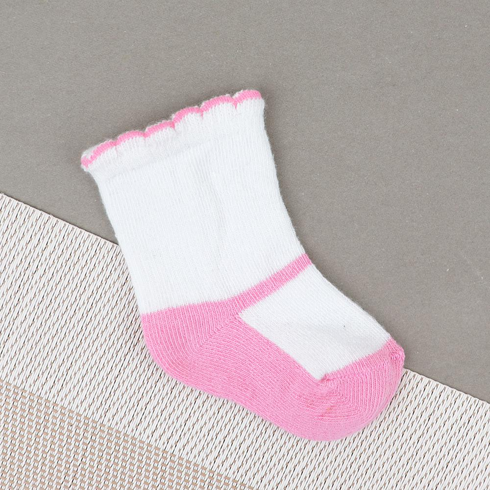Baby Soft Color Block Socks For Newborn to 6 Months (30227)