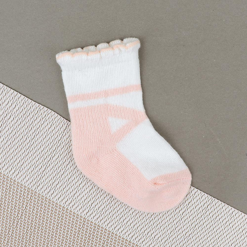Baby Soft Color Block Socks For Newborn to 6 Months (30233)