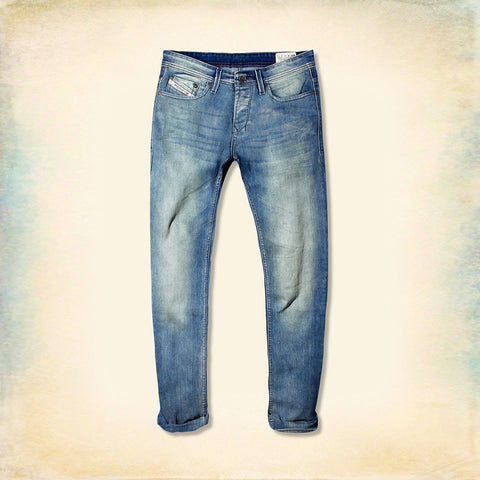 DIESEL-exclusive marino dirty wash 'slim fit' comfort stretch jeans