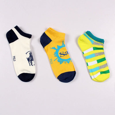 3 pair imported ankle socks