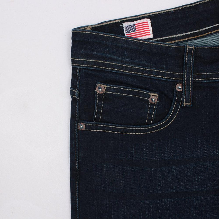 TRUE RELIGION-exclusive smith 'slim fit' stretch jeans