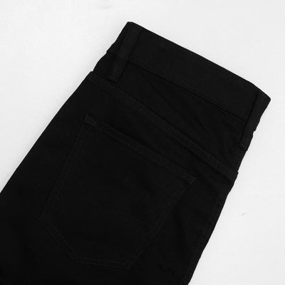 DIESEL-exclusive black edda 'slim fit' stretch jeans