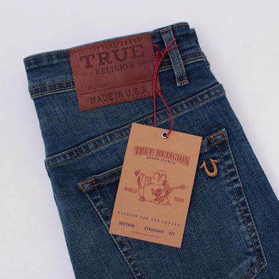 TRUE RELIGION-exclusive dru 'slim fit' stretch jeans