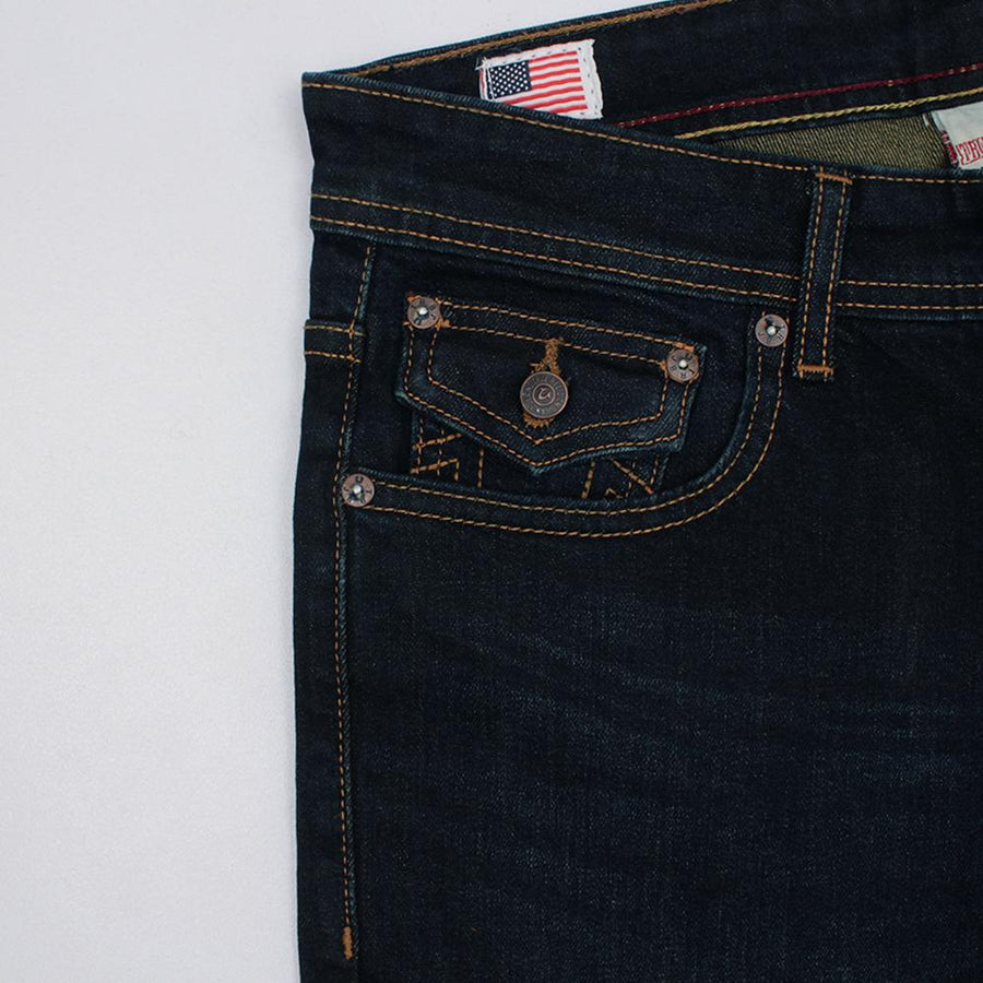 TRUE RELIGION-exclusive anna 'slim fit' stretch jeans