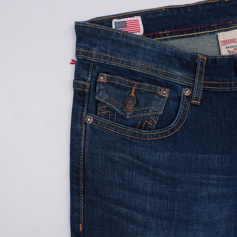TRUE RELIGION-exclusive eli 'slim fit' stretch jeans