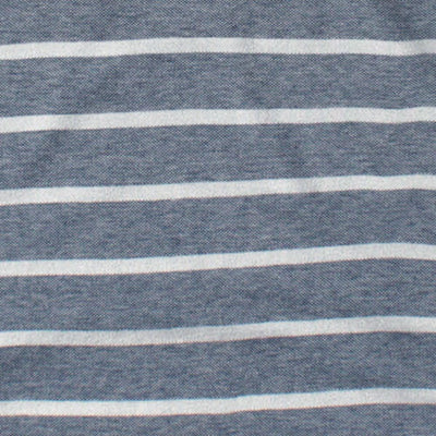 BANANA REPUBLIC-signature pique stripe polo