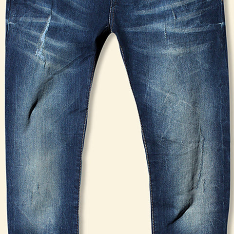 Abercrombie & Fitch-exclusive andric 'slim fit' stretch distressed jeans