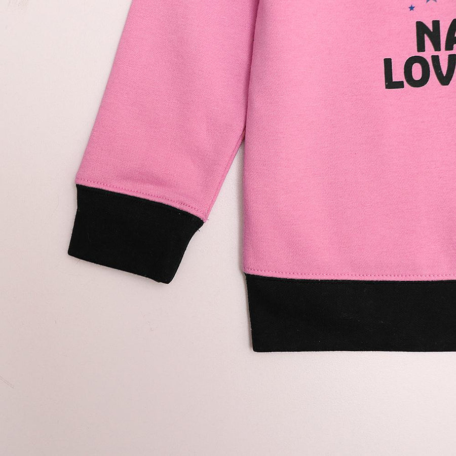 Zr kids 'Nanny Loves You' printed sweatshirt (1564)