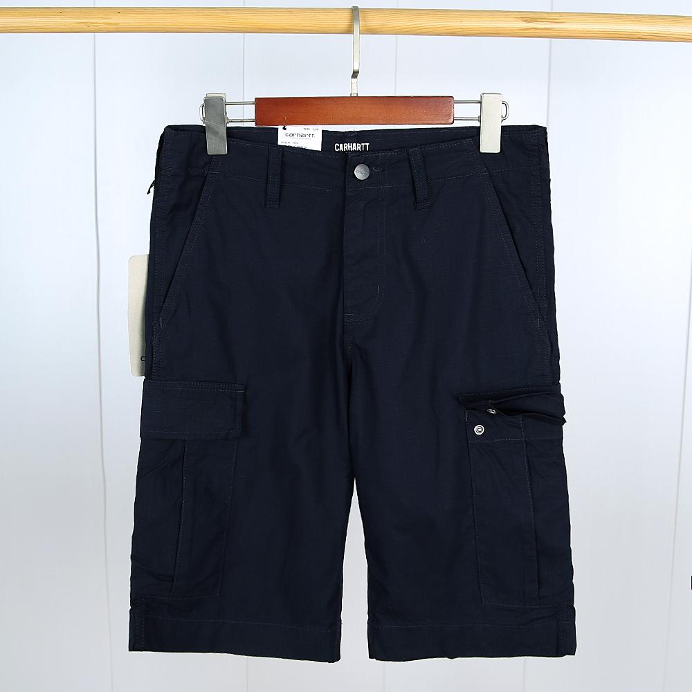 Exclusive Quality Navy 6 pockets Cargo Chino Shorts For Men (21065)