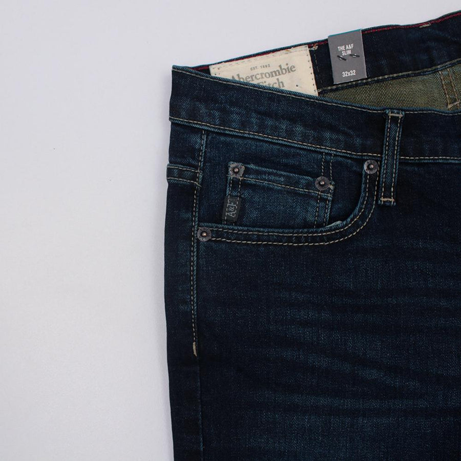 ABERCROMBIE & FITCH-michael 'slim fit' stretch jeans