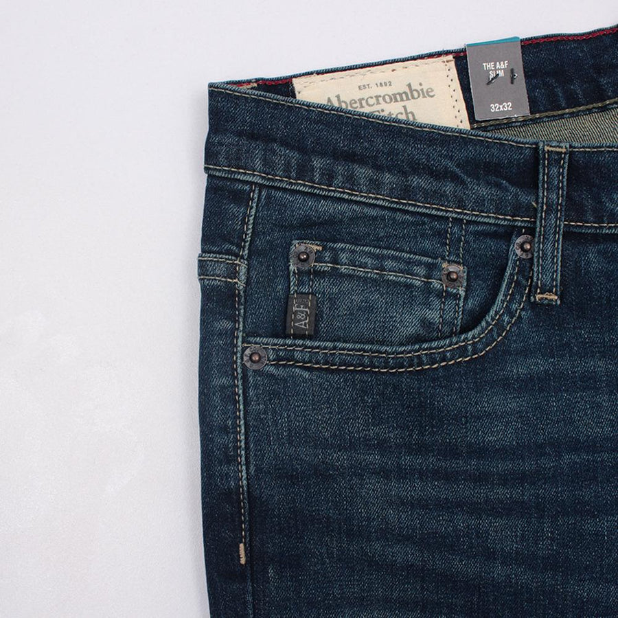 ABERCROMBIE & FITCH-taylor 'slim fit' stretch jeans