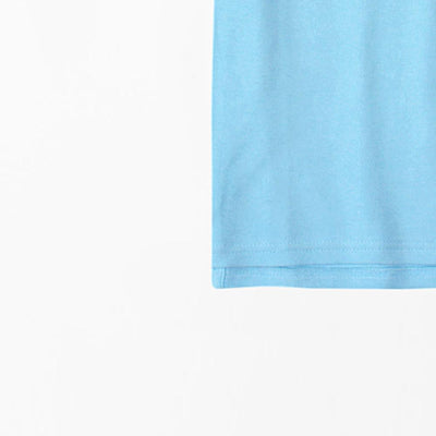 Boys sky blue short sleeve polo (806)