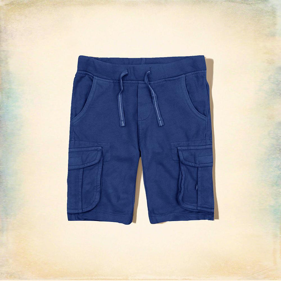 OKAIDI-boys blue five pocket short