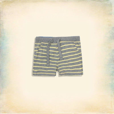 Kids organic cotton short with stripes (812)