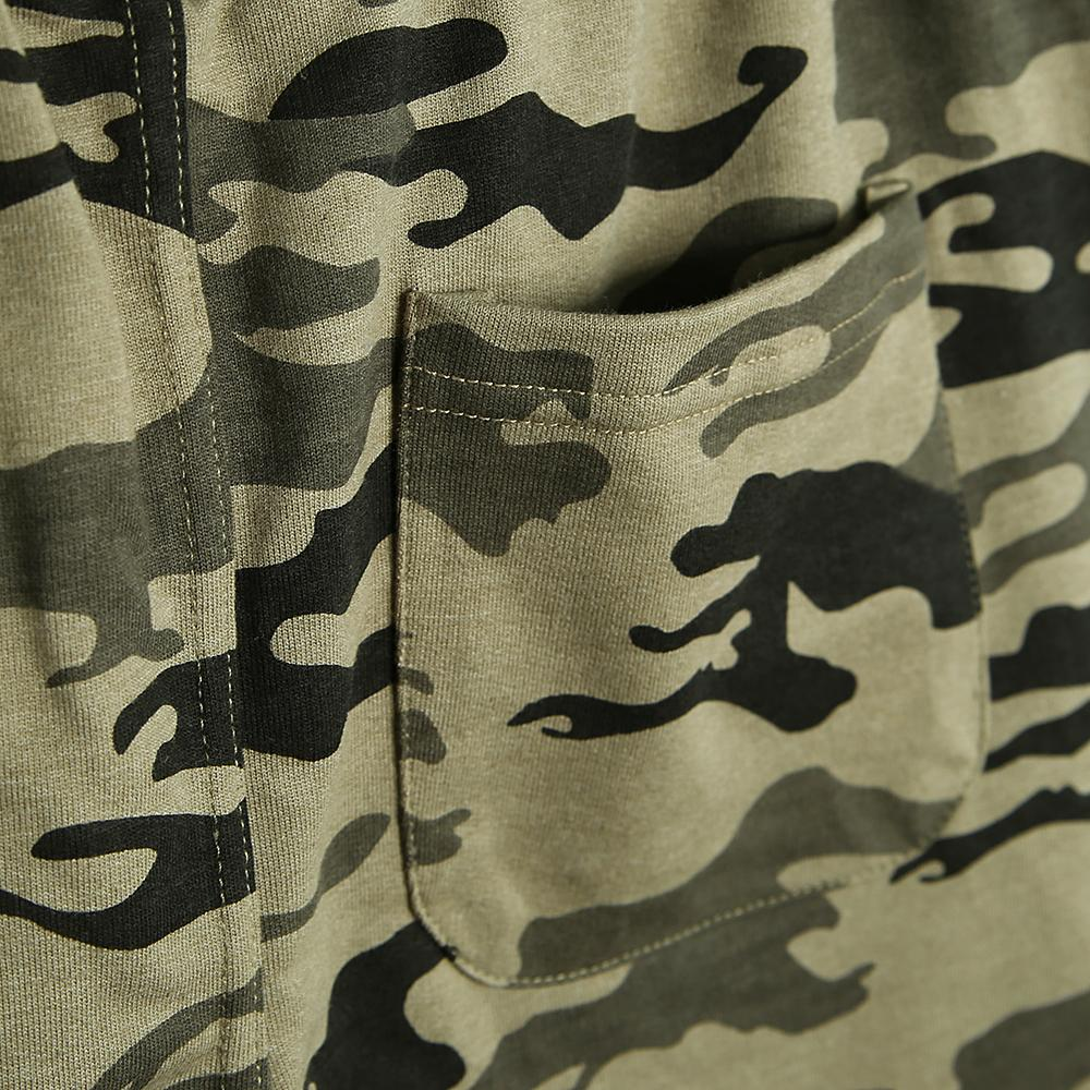 Men Premium Quality Terry Camouflage Shorts (21093)