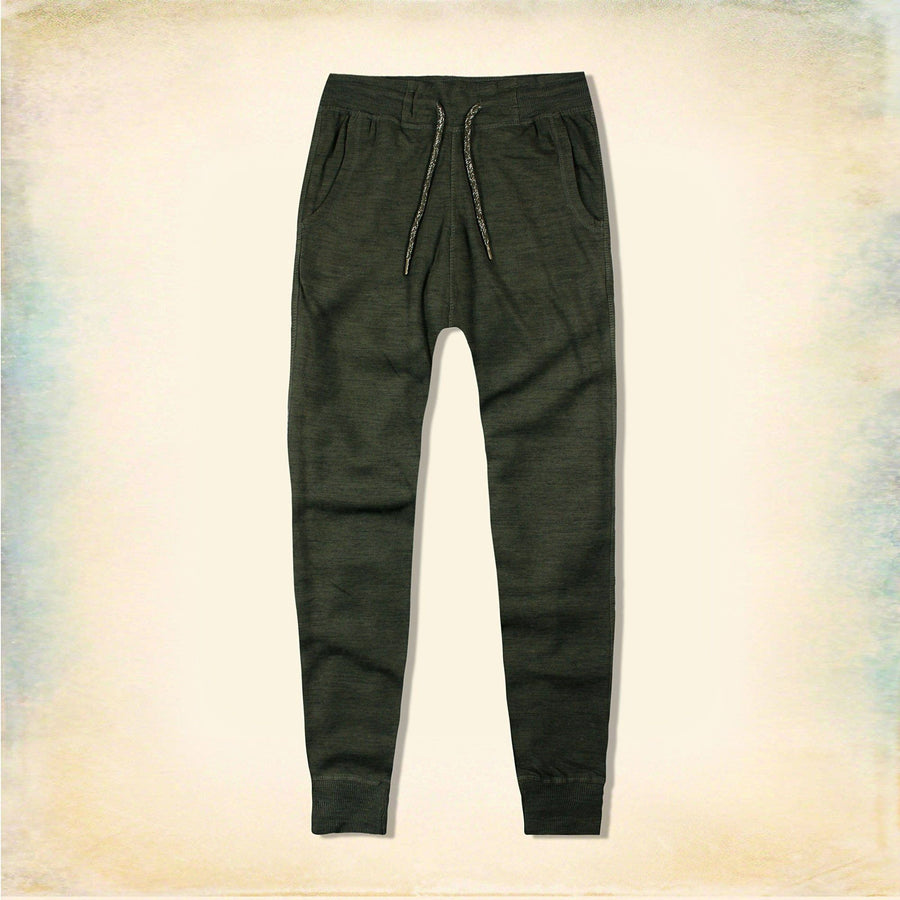 LOVE TO LOUNGE-women olive 'slim fit' terry jogger trouser