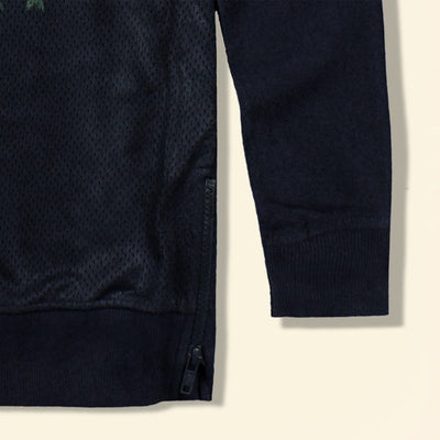 TERRANOVA-boys navy 'long fit' ny sweatshirt
