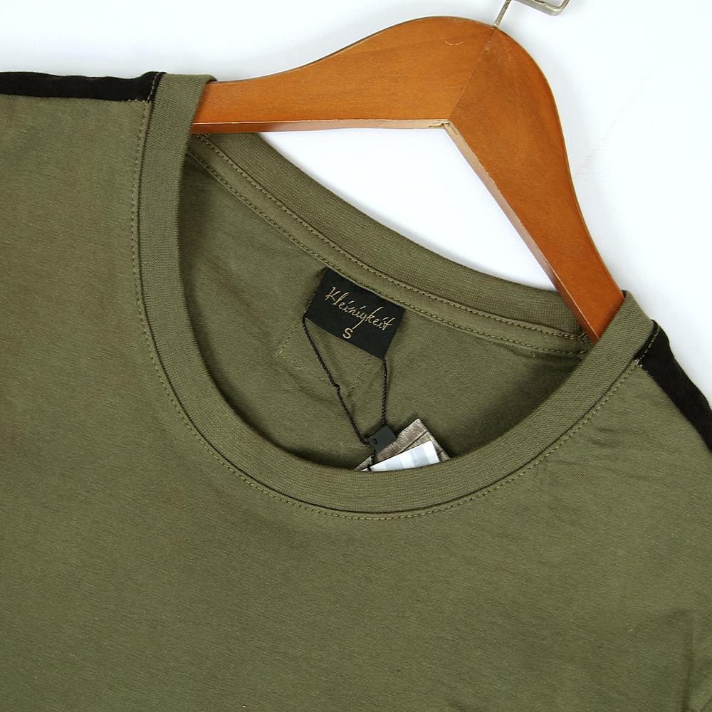 Premium Quality Olive Green Cotton T-Shirt For Men (21102)