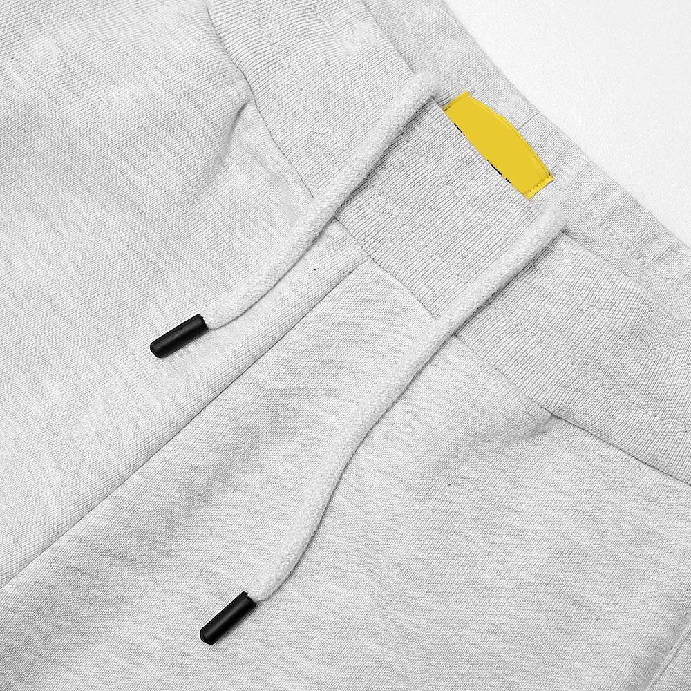 Men Premium Quality Regular Fit Heavy Fleece Texture Grey Jogger Trouser (21023)