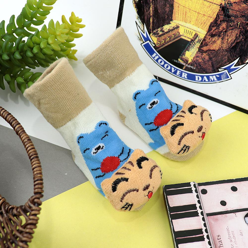 Pack of 4 Gift Pack Baby Imported Cartoon Socks (40035)
