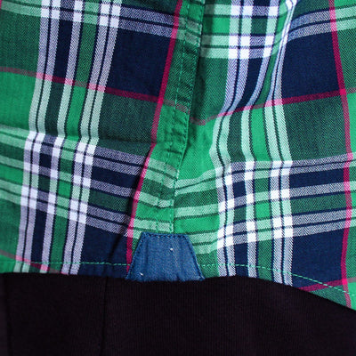 TOMMY HILFIGER-comet green button down shirt