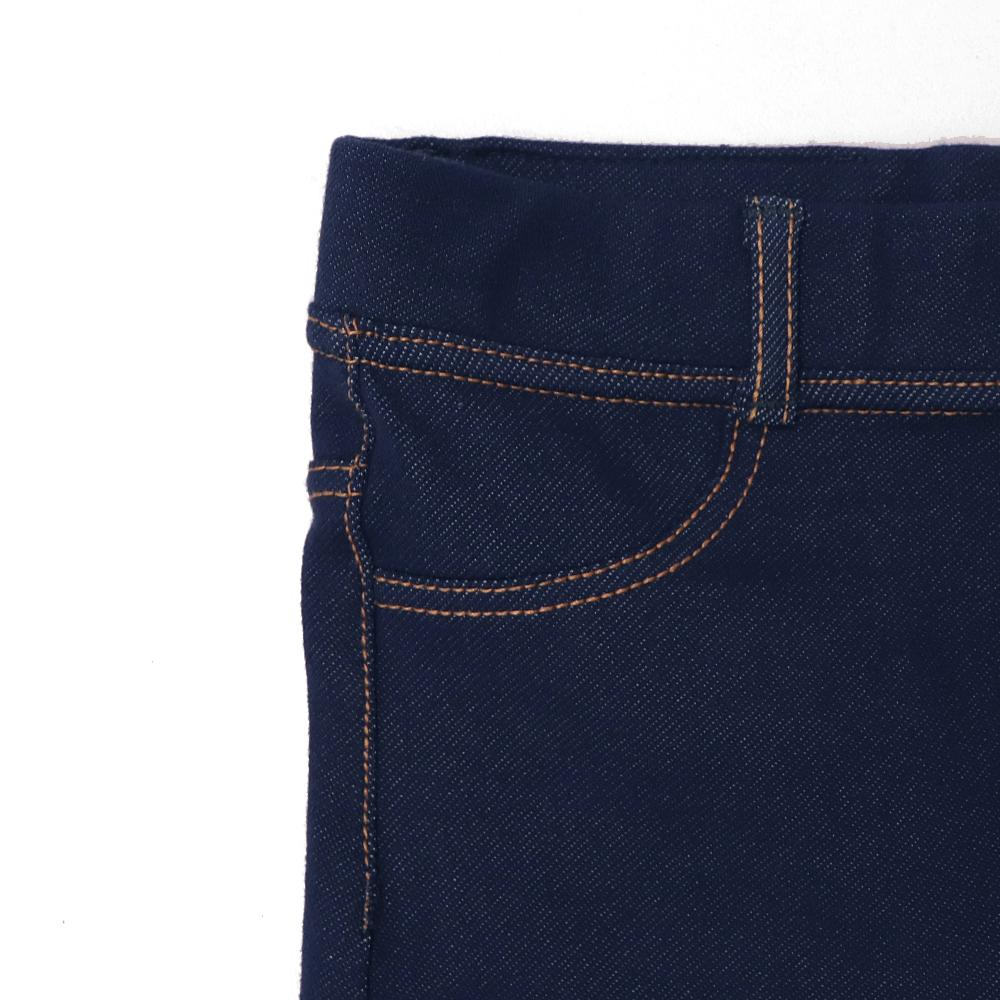 Girls high waisted super stretch blue jeggings (2582)