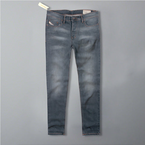 DIESEL-eroz 'slim fit' stretch light wash jeans