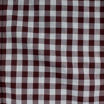 OLD NAVY-coral check 'regular fit' button down shirt