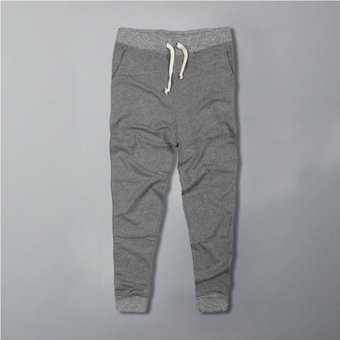 CELIO- dark grey 'slim fit' jogger trouser with contrast rib