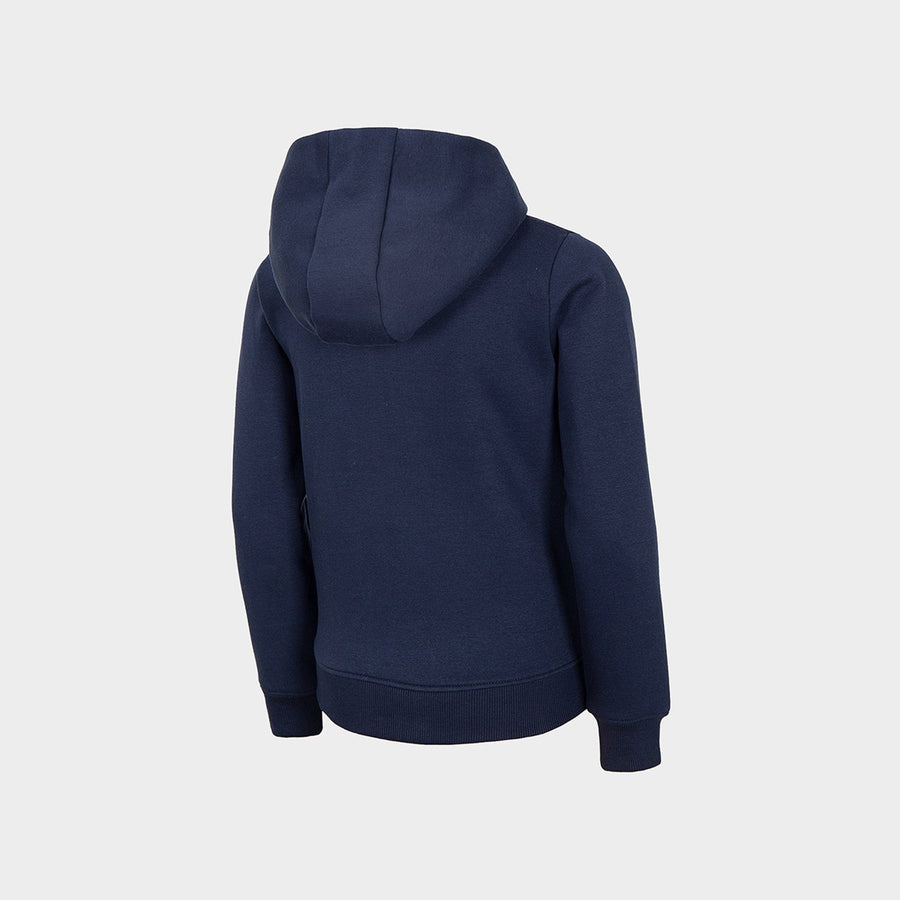 4F girls revolution navy zipper hoodie (1445)