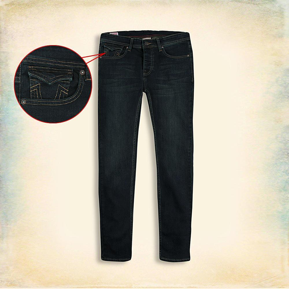 Exclusive bryn 'regular slim' stretch jeans (Premium Fabric)