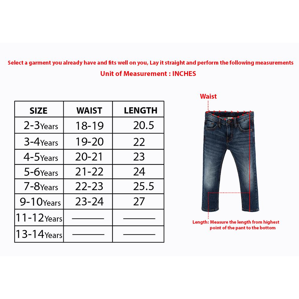 Boys premium quality stretch jeans with braces (2580)