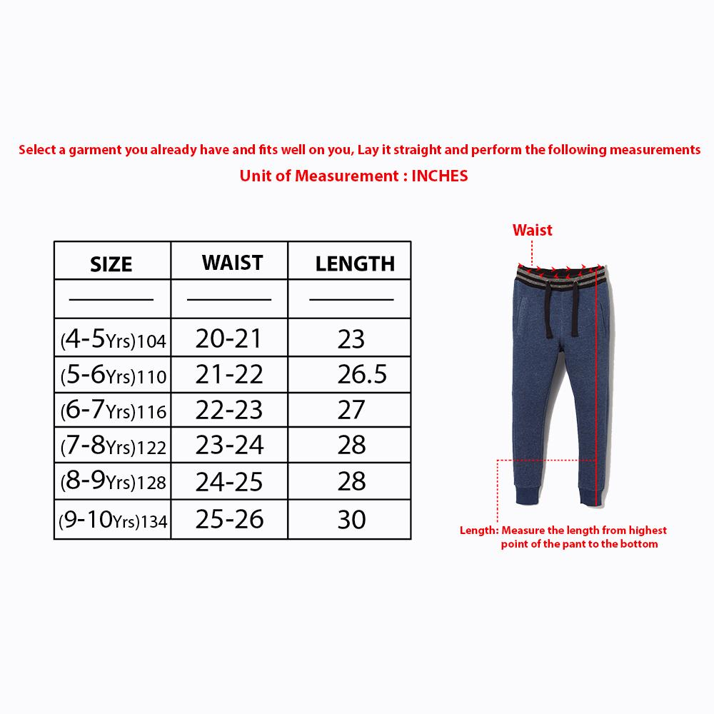 Pepco boys red 'slim fit' jogger trouser (1501)