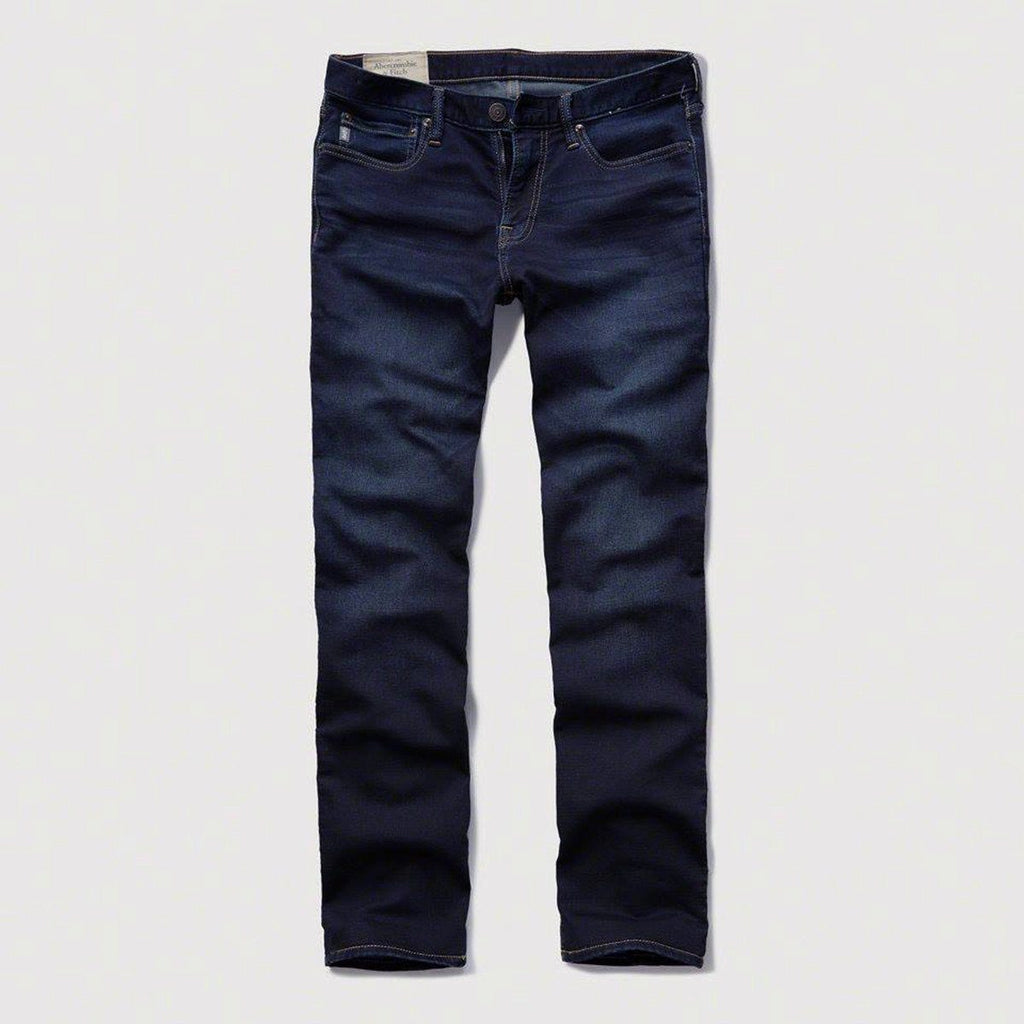 Abercrombie & Fitch-exclusive zodic 'slim fit' stretch dark navy denim (Premium Fabric)
