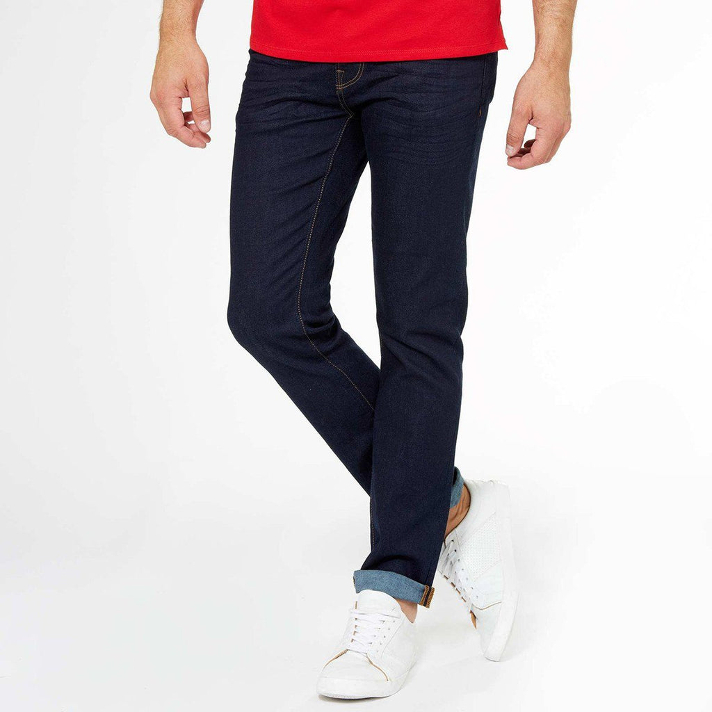 KIABI-raw 'slim fit' stretch jeans (KA-004)