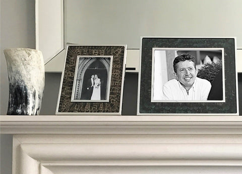 200e403d99df (from left to right)  Alice Wingfield Digby wedding photo in Wingfield  Digby Hen Pheasant Feather Photo   Glass Photo Frame (available online  here)  ...