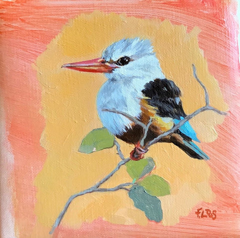 African Kingfisher by Francesca Sanders