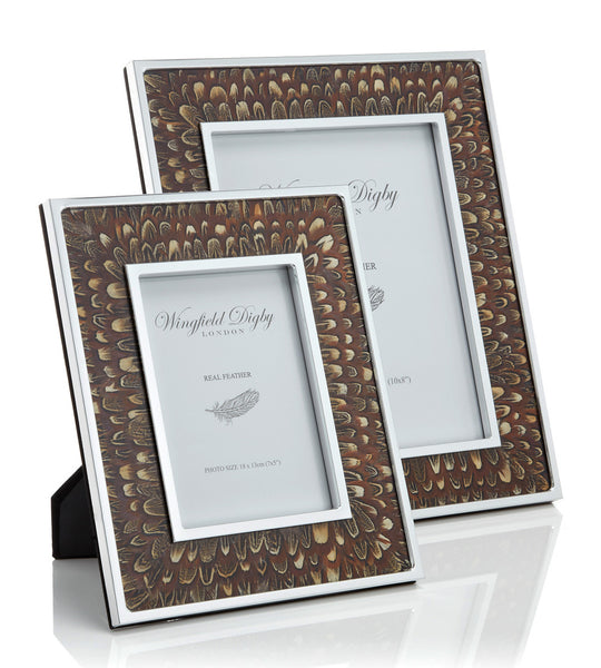 Wingfield Digby pheasant feather photo frame