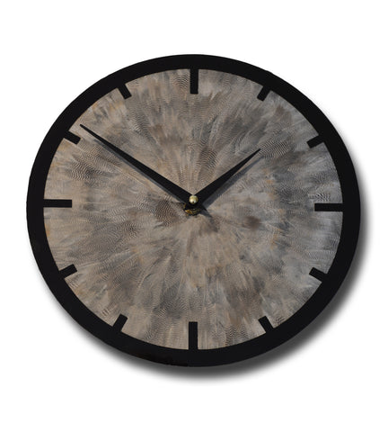 Duck feather clock