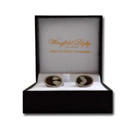 Reeves Pheasant cufflinks