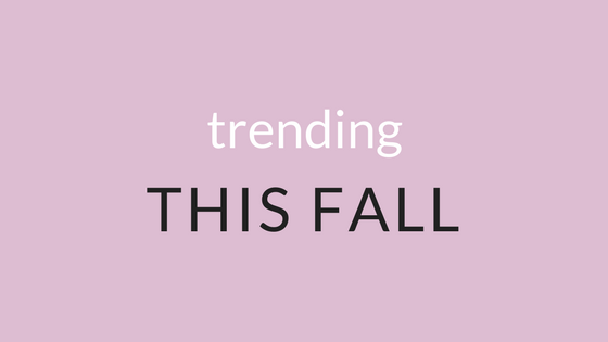 Fall 2017 Boutique Fashion Trends