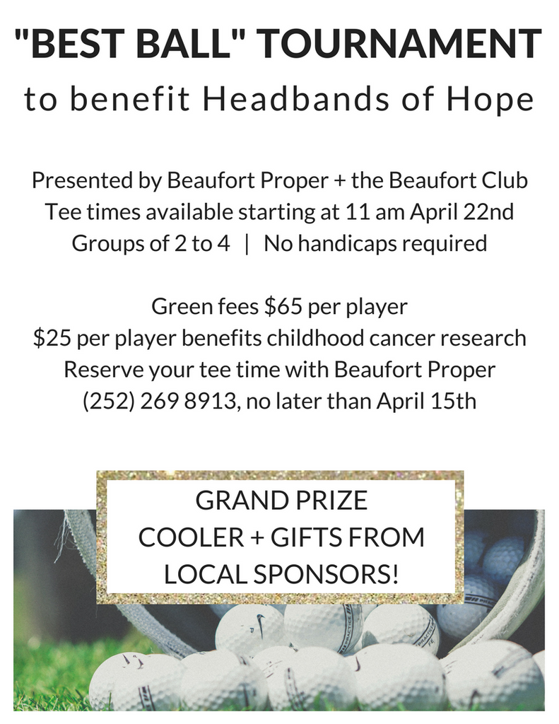 Headbands of Hope Benefit Best Ball Tournament at the Beaufort Club