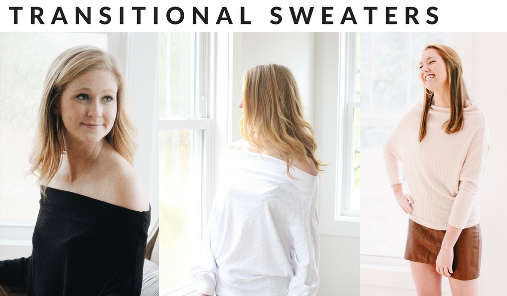 lightweight sweaters for winter to spring