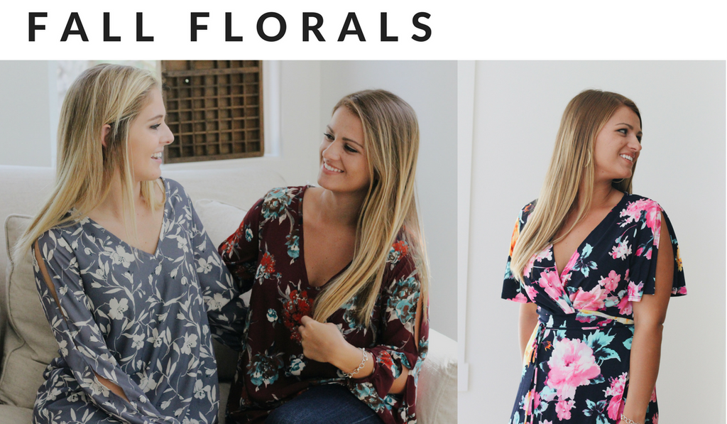autumn florals from beaufort proper boutique fashion trends fall 2017
