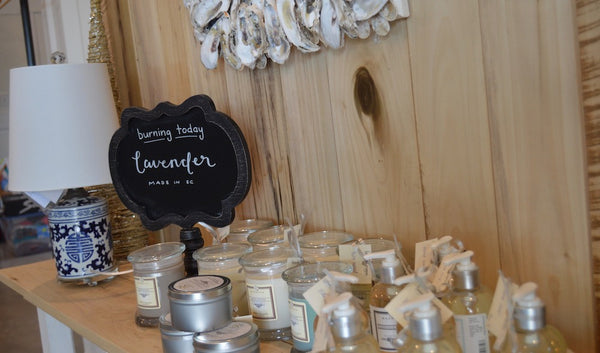 Magnolia Scents by Design Candles Lotions at Beaufort Proper