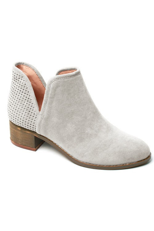 Vick Ice Gray Booties