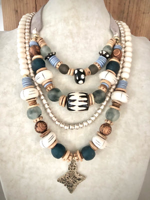 Earth collection Boho Necklaces